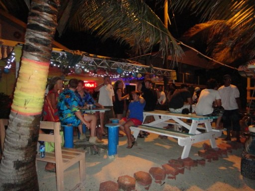 caribbean beach bars