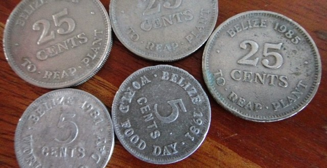 Belize Money and Treasure Hunting at Home