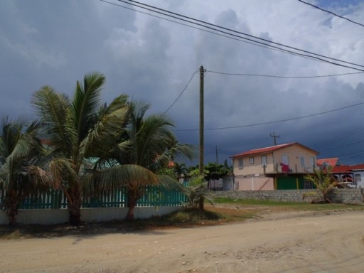 Belize Weather brings Storm clouds