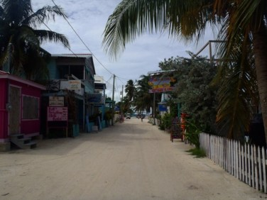 tropical paradise caye caulker