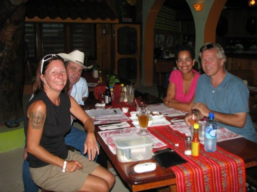 Elvis kitchen San Pedro Belize