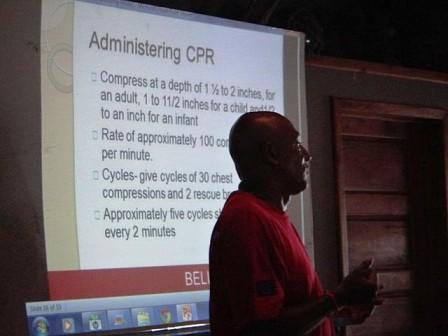 Belize red cros medical safety program