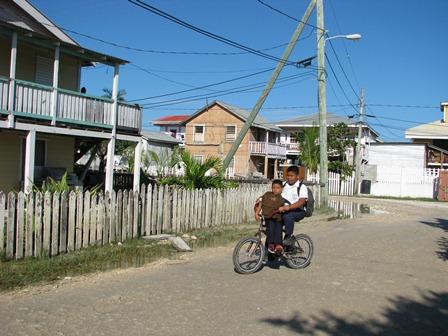 san pedro town in belize