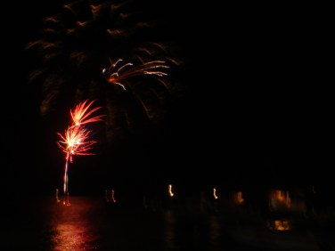 new years fireworks pictures san pedro belize
