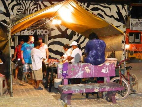 street food downtown san pedro