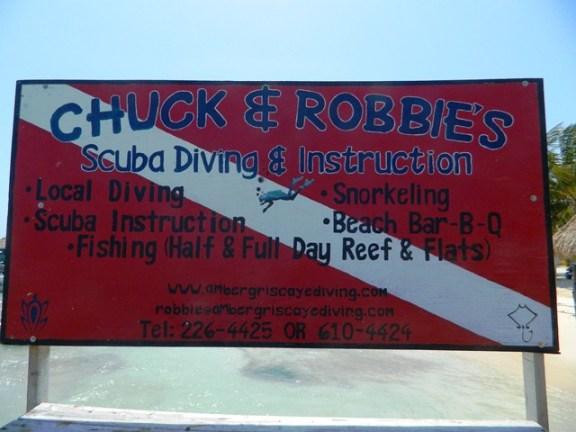 belize diving services