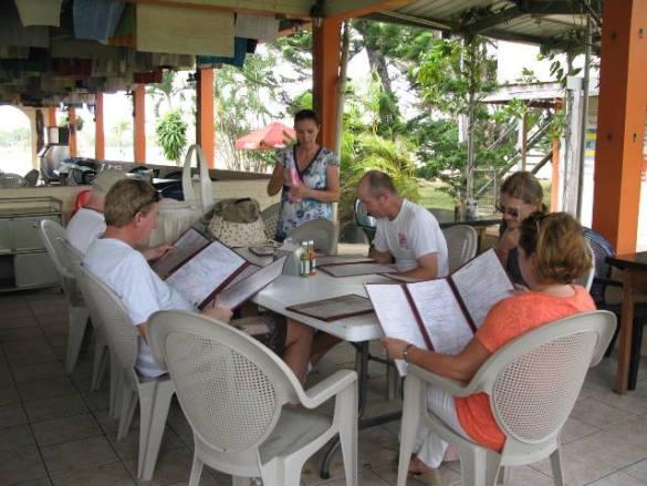 amigos restaurant near belmoman and the belize zoo