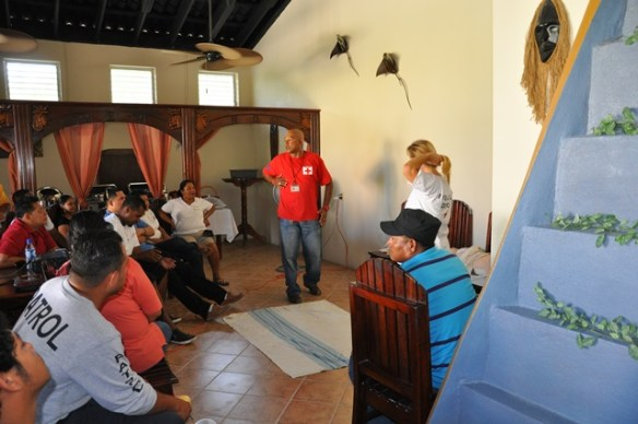 San Pedro Belize Red Cross first aid training