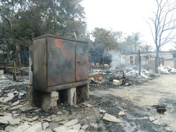 Well wishes to the Ramon's Village after the fire – Symptoms and treatment for smoke inhalation