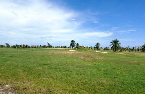 Golf Course at Caye Chapel