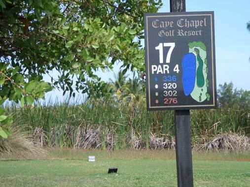caye chapel golf course belize