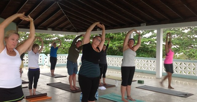 Zen Arcade. Why not take a Yoga vacation in Belize?