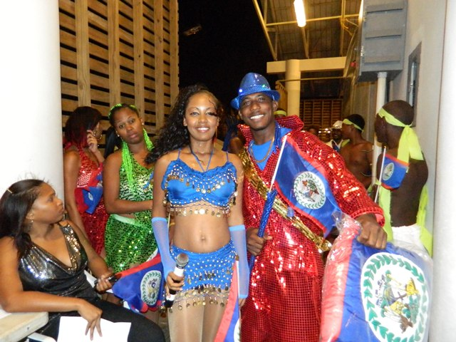 talented belizean artists at the 2014 belize national song competition