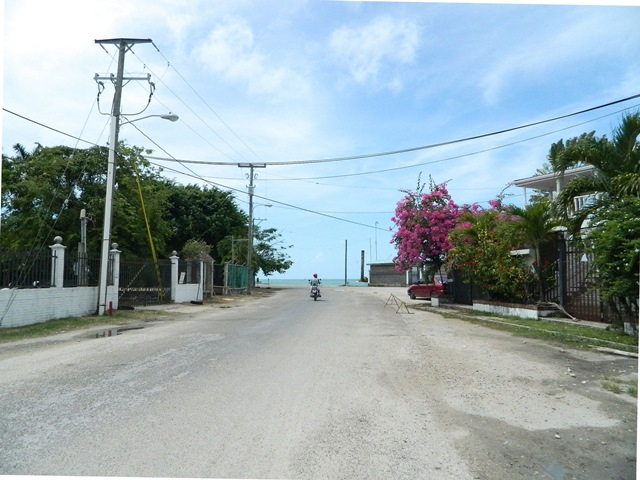 long walk  around belize city