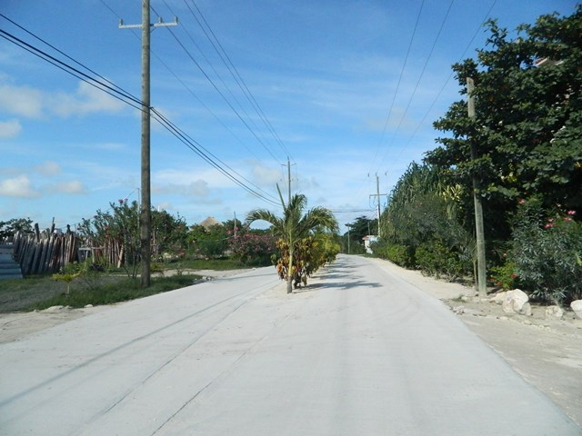 paved roads north ambergris