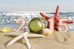 beach new years 2015