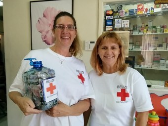 bellize red cross voluntourism