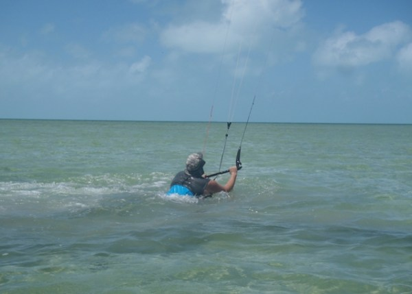 kitesurfing in belize