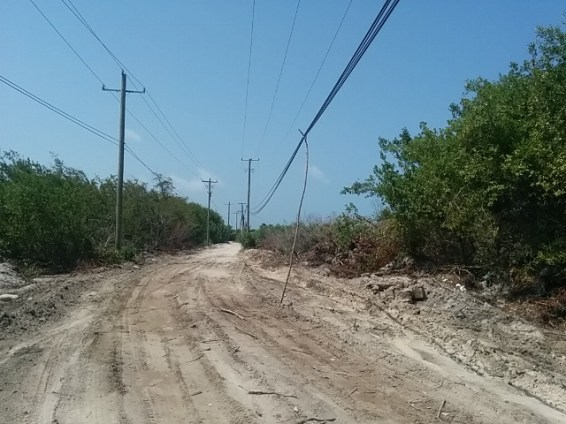 Driving on Ambergris Caye Belize