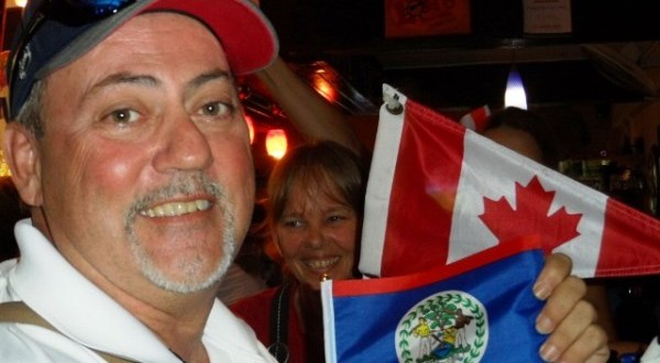 Canadian Team Spirit in San Pedro Belize