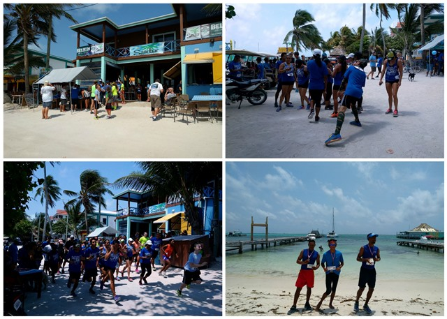 Walk Run for Autism at Sand bar San Pedro Hostle