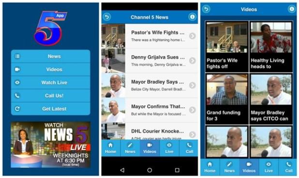 Channel 5 Belize News app Belize News app