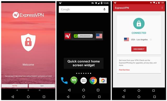 Virtual Private Network Server Travel App