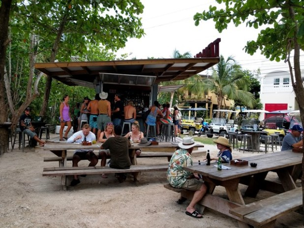 Truck stop Ambergris Caye Restaurant