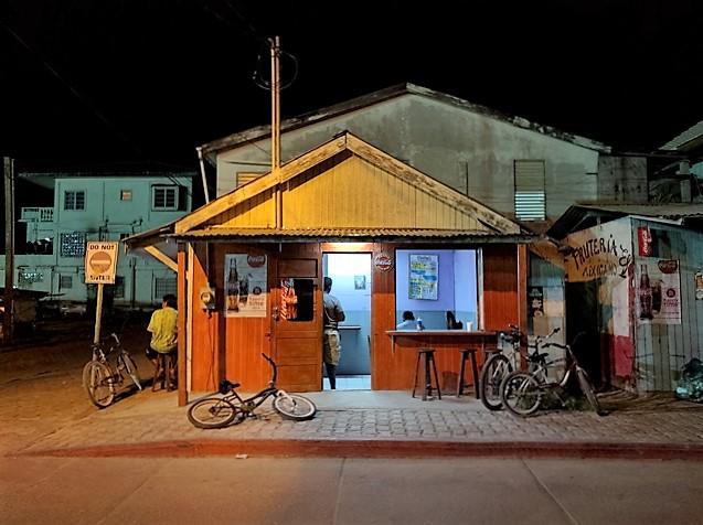 Local Belizean food restaurant