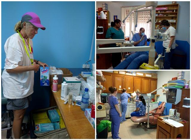 Belize Red Cross volunteer vacation group