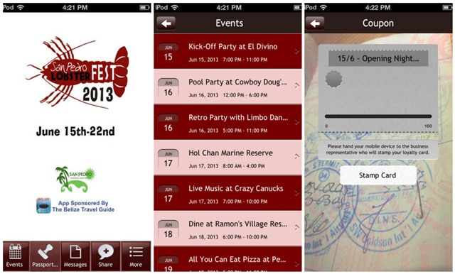 San Pedro Lobsterfest Best Travel Apps for Belize