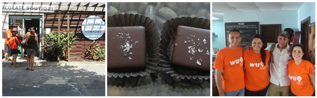 Fresh made Belize Chocolate
