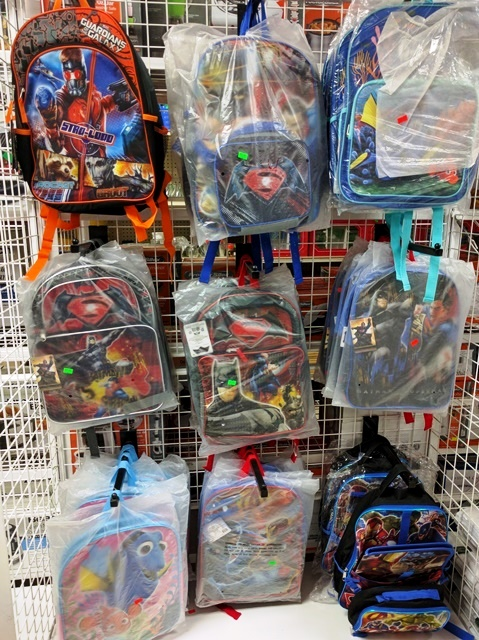 Backpacks for Belize School kids