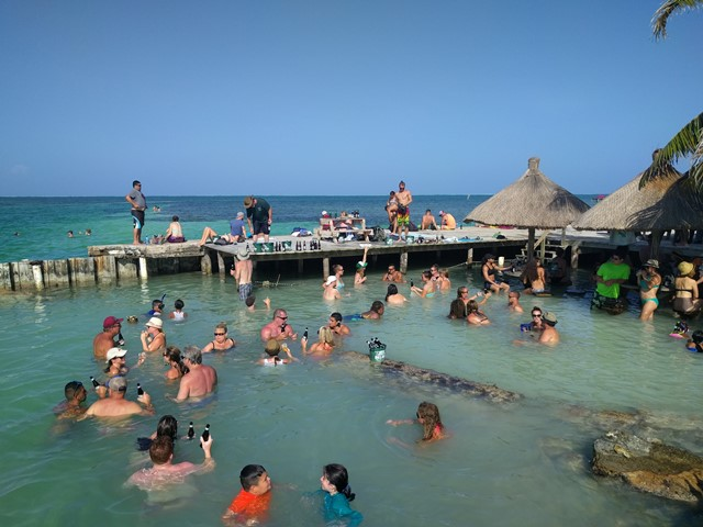 The split Caye Caulker, Belize