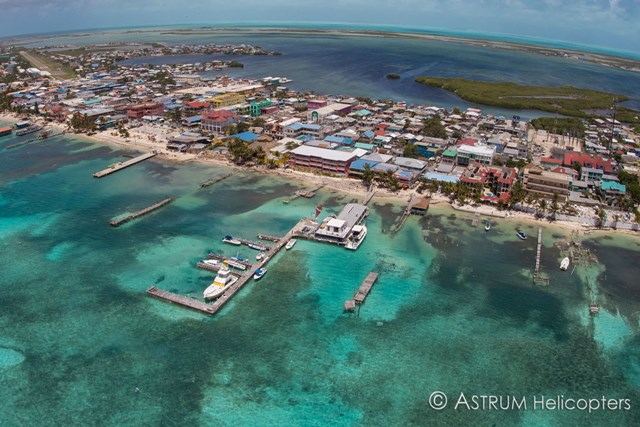 Astrum Helicopters aerial after Hurricane Earl
