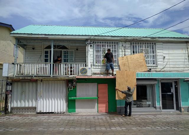 2016 hurricane season Belize