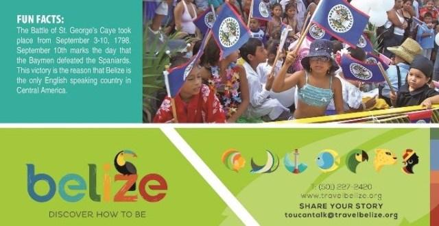 Celebrating September in Belize