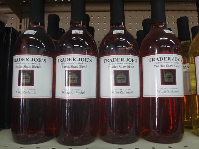 BUying wine on Ambergris Caye