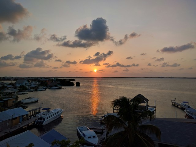 lagoon side downtown San Pedro by tacogirl Belize blog