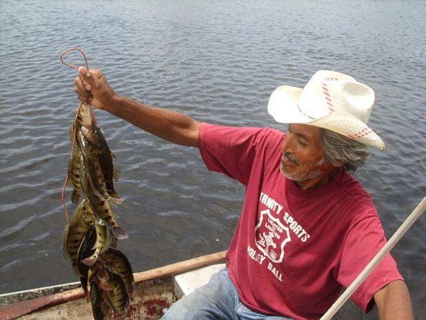 Fishing in Belize