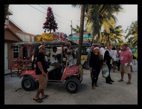 Love Fm Christmas Parade San Pedro Belize