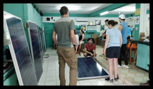 Growing Solar Power in Belize Schools