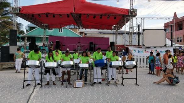 Steel Drum Band Belize