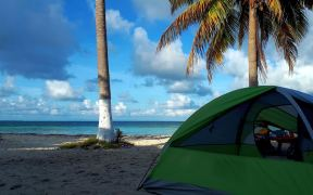 Goff's Caye Camping Tour