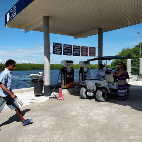 Gas Station Downtown San Pedro