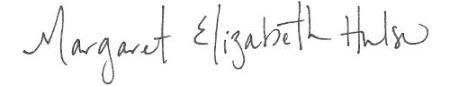 Margaret Elizabeth Hulse Texas Belize