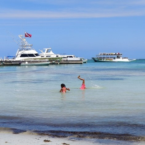 Easter Weekend on Ambergris Caye Belize