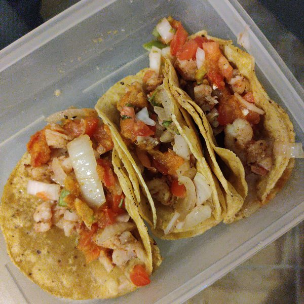 Albertinas Shrimp tacos Central Park Downtown San Pedro