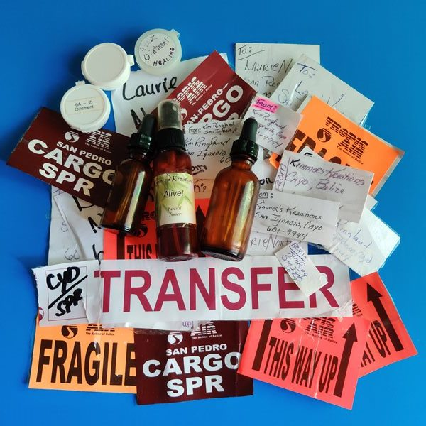 Tropic Air Cargo stickers