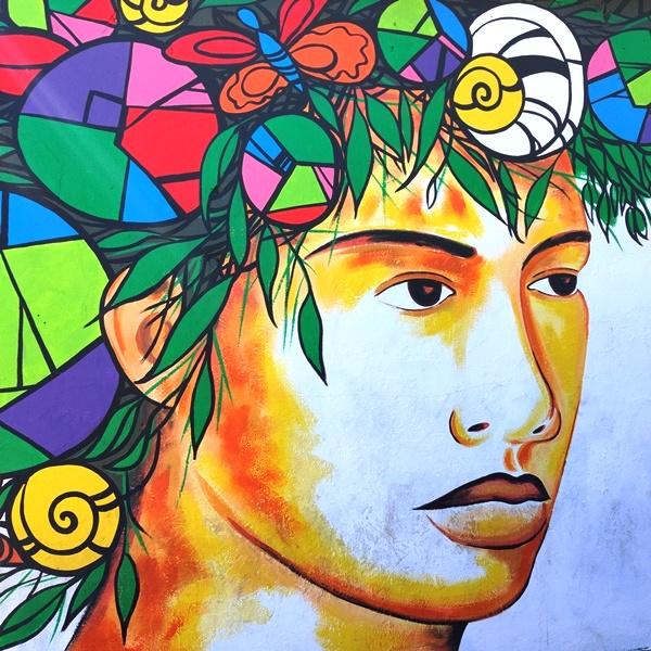 Graffiti in Belize
